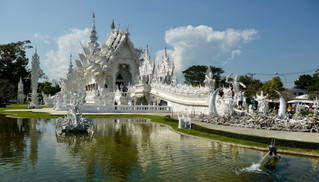 Sunday: White Temple, Sticky Falls-Again!