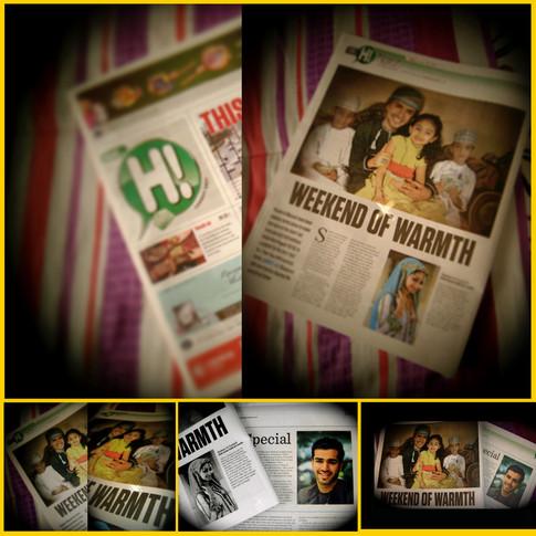 مقالتي في جريدة Hi الأسبوعية بمناسبة العيد