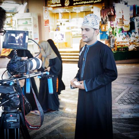 تصوير لقائي في قناة الجزيرة - مارس 2013