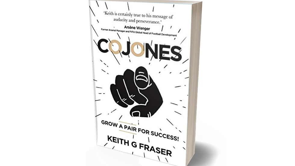 Cojones: Grow a Pair for Success! Paperback – 10 Dec. 2020