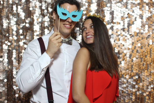 Sequin Backdrop Photobooth