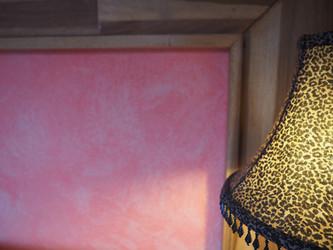 Original lamps and designed bed frames