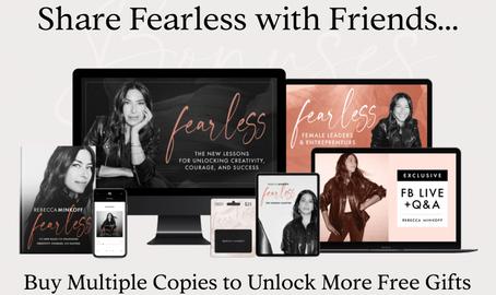 Rebecca Minkoff Fearless Book Campaign