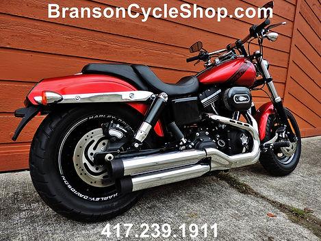 2016 Harley Davidson Dyna Fat Bob