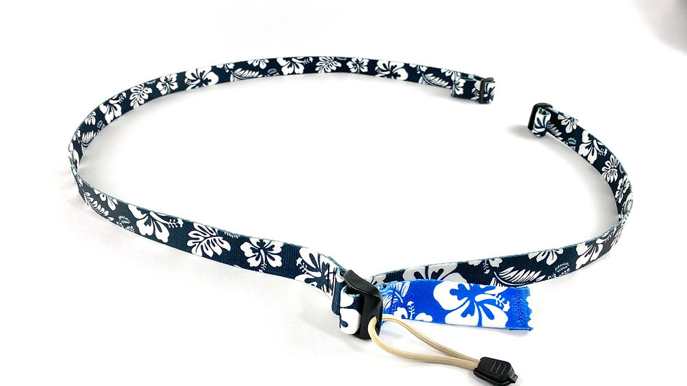 Black Hibiscus 2 point sling