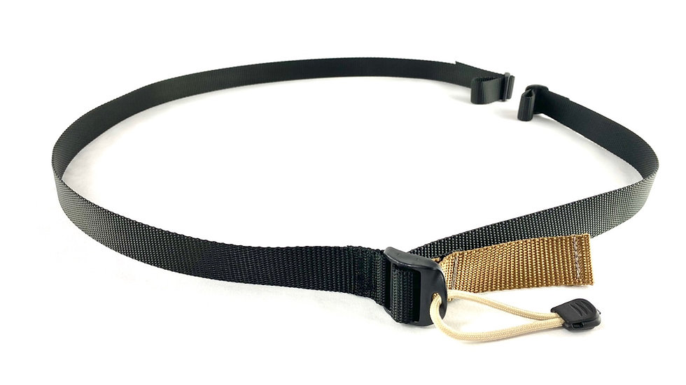 Black quick adjust 2 point sling