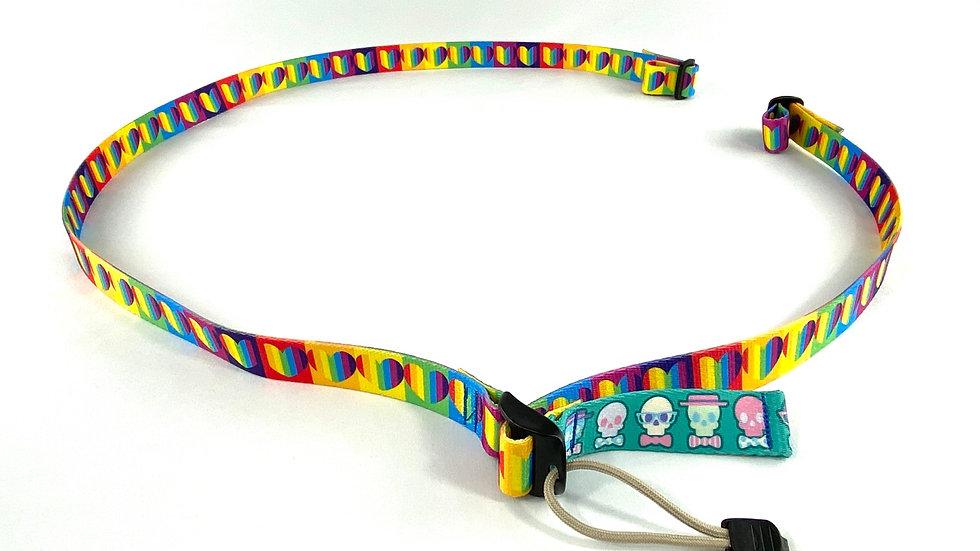 Rainbow Hearts 2 point sling
