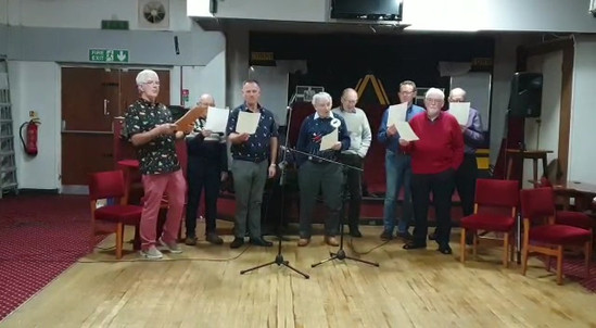 The men's christmas party song 2019
