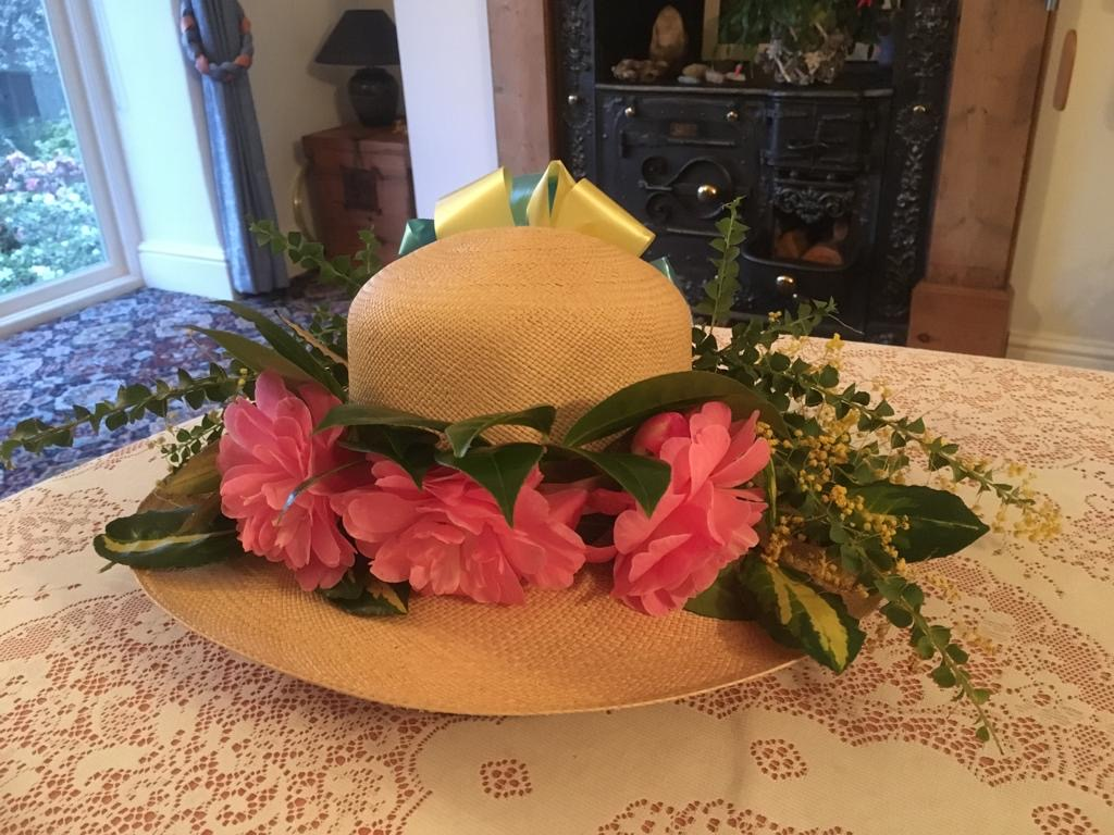 Mandy easter bonnet