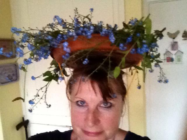 Caroline easter bonnet