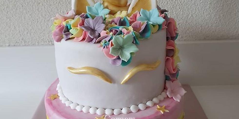 Workshop Unicorn cake