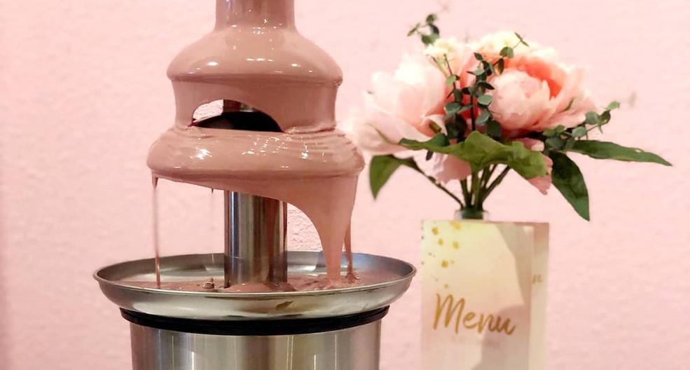 Chocolade Fontein € 17,95 p.p