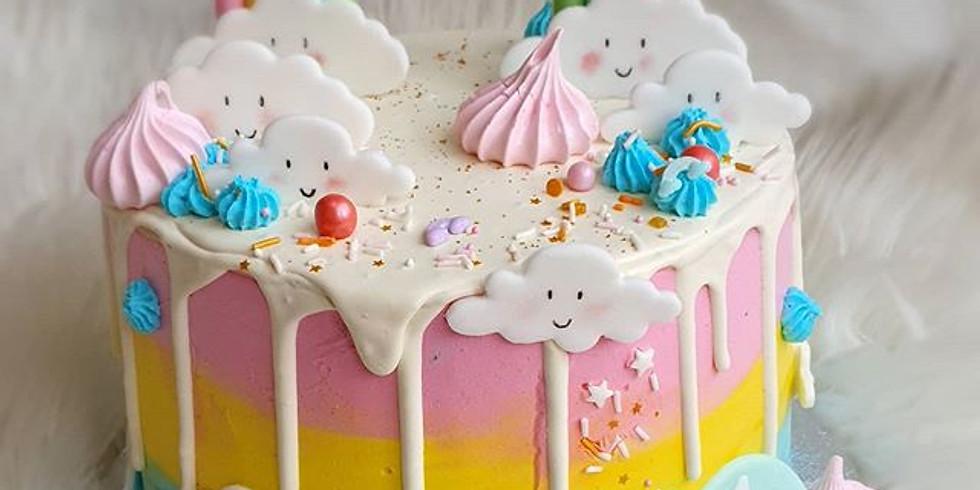 Workshop Candydrip cake