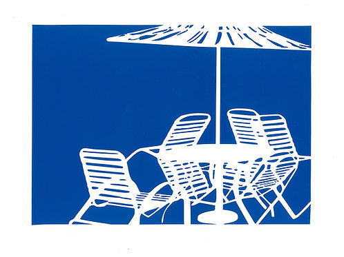 Deck Chairs Series Vinyl Umbrella Limited Edition