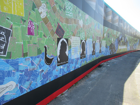 Carnwarth Road Hoarding Public Art Commission