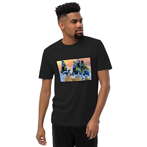 Original Art Printed Unisex recycled t-shirt, Signed by the artists