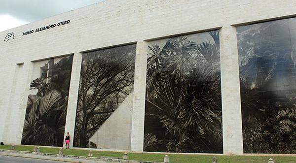 Tropico Camuflado, facade intervencion, 2013-