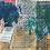 Thumbnail: Monoprint A3 Poolside 2 2020