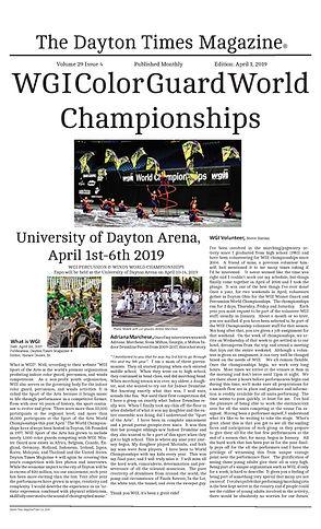 The Dayton Times Magazine Article_WGI201