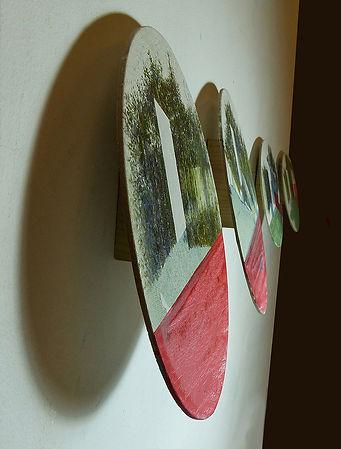 HP Series, Oval Portrait Diptych 1, deta