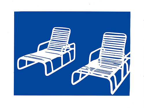 Deck Chairs Series Vinyl Pair. Limited Edition