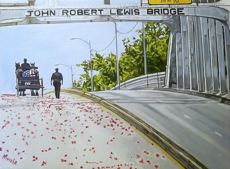 John Robert Lewis Bridge by Morris Howard