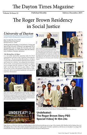 The Dayton Times Magazine Article_Roger Brown Story