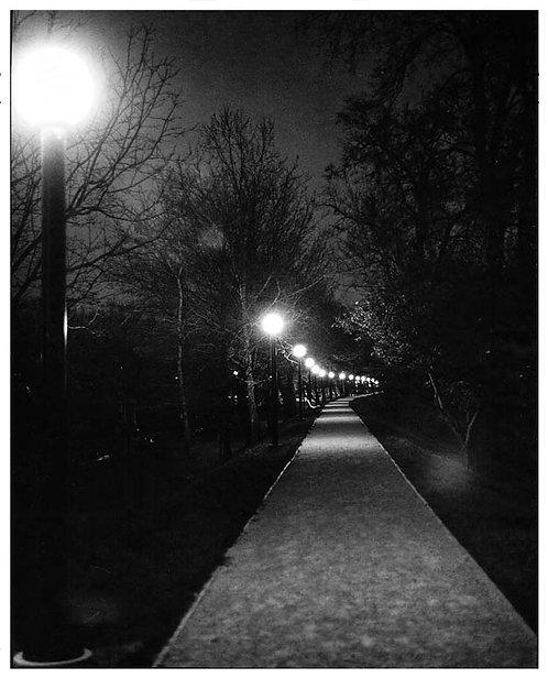 """""""River Walk"""" Downtown Dayton _1977"""
