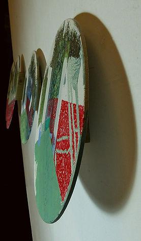 HP Series, Oval Landscape Diptych1, deta