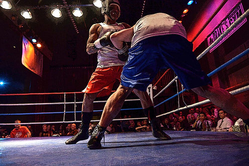 """""""Friday Night Boxing"""" Drakes Gym © by Horace Dozier Sr. PN:6507"""