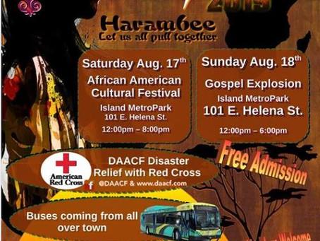 The Dayton African American Cultural Festival (DAACF) 2019