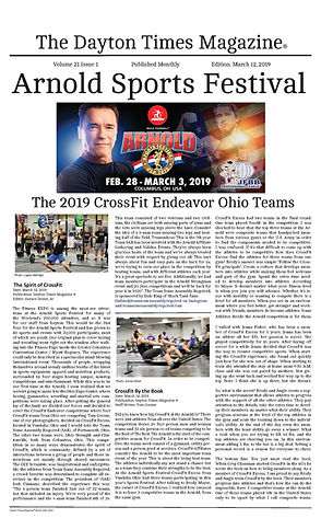 The Dayton Times Magazine_Arnold Article