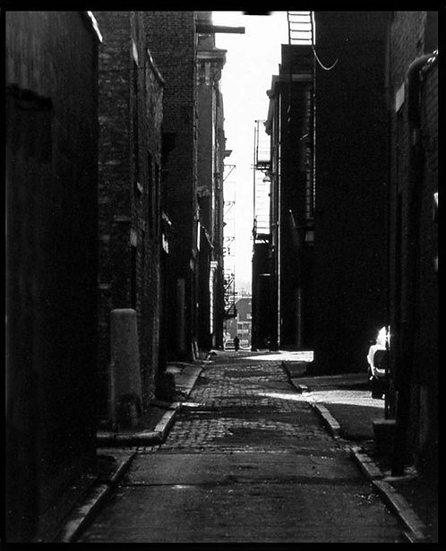 """""""Man In The Alley"""" _1972"""