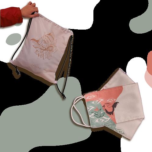 Bundle 2 : String Bag + Mask