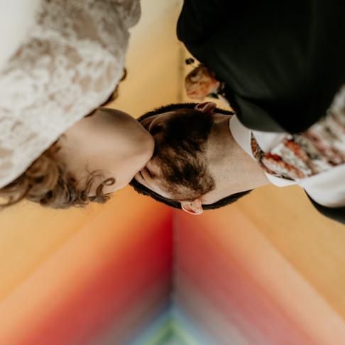 Allison & Ian's Small Austin Wedding