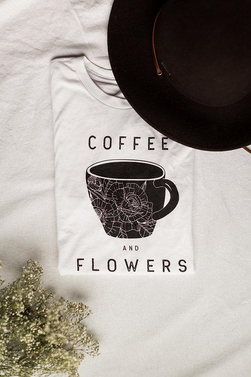 Coffee + Flowers Tee