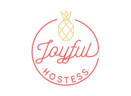 Joyful Hostess | New Name, New Logo, New Brand