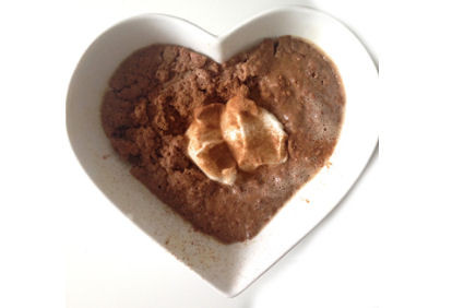 Chocolate PPB Protein Pudding (no oven required!)