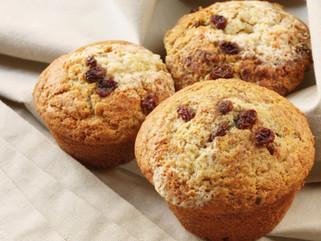 PPB & Raisin Muffins