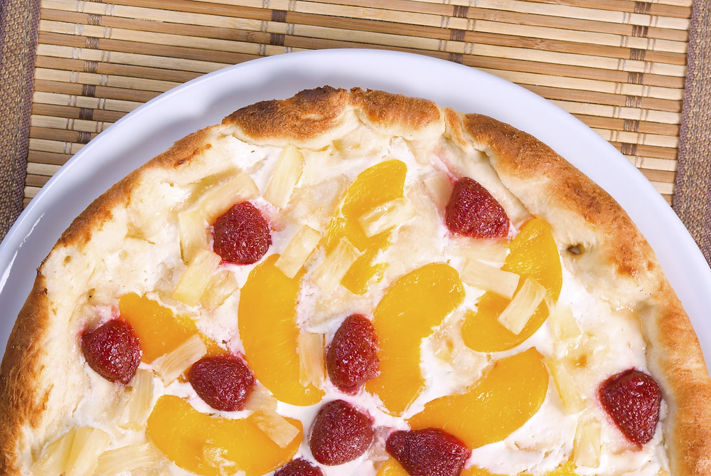 Fruity PPB Pizza