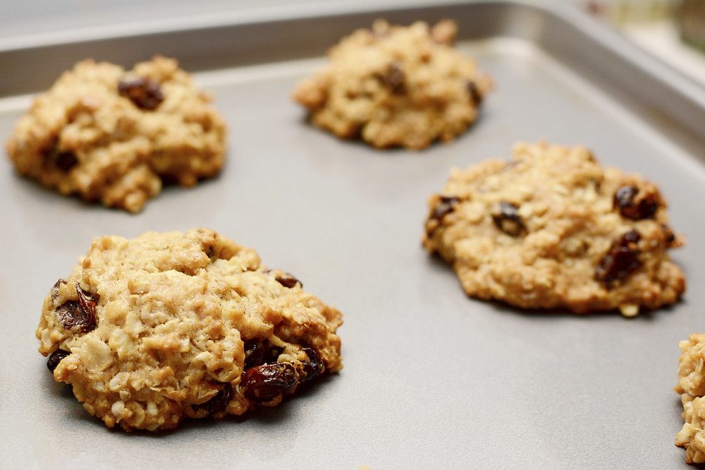 Oatmeal Raisin PPB Cookies