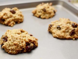 Oatmeal Raisin PPB Cookies