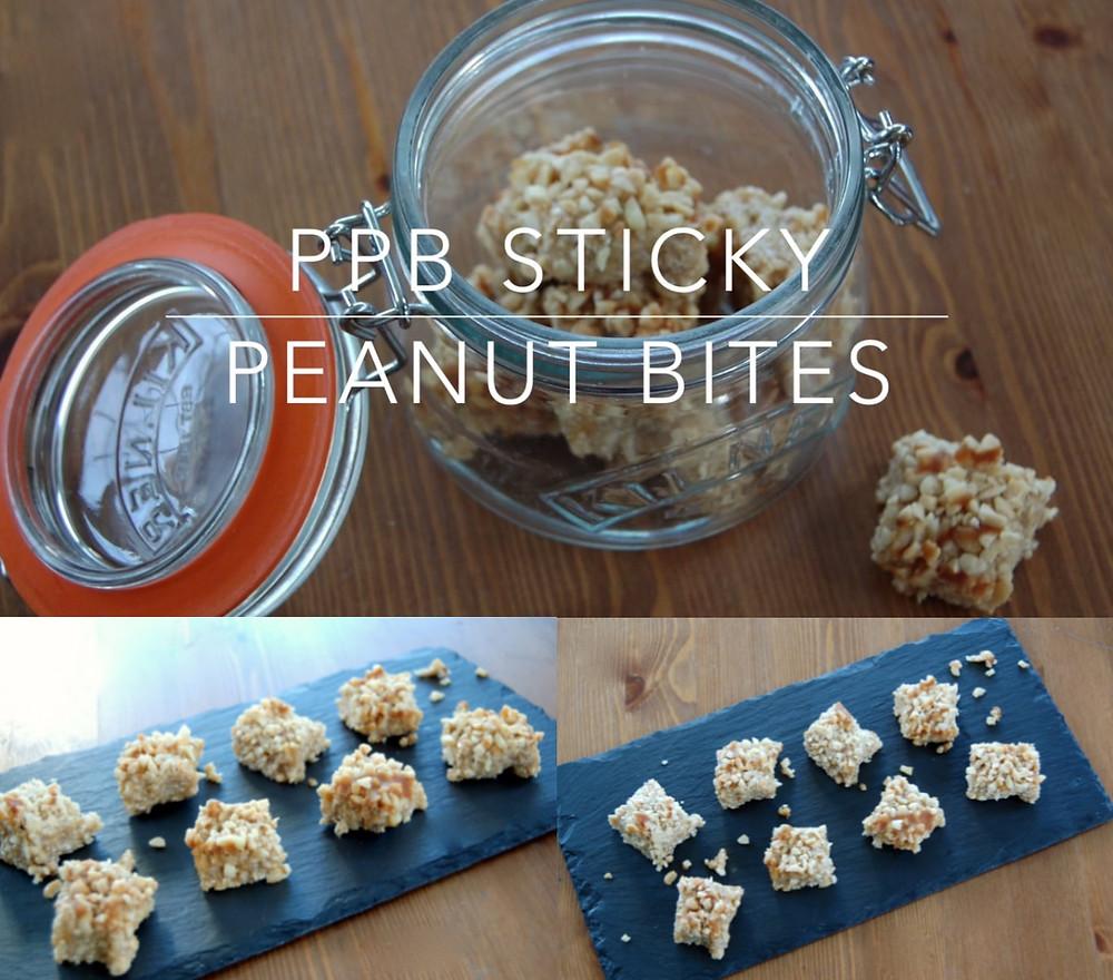 No Bake PPB® Sticky Peanut Bites