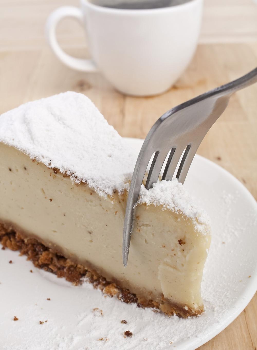 Healthy PPB Cheesecake