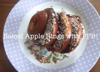 Baked Apple Rings with PPB