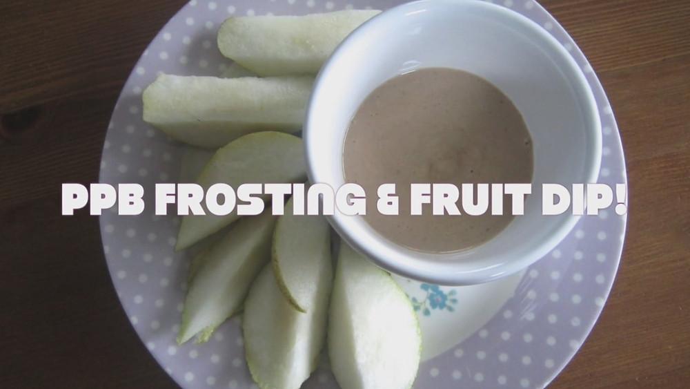 PPB Frosting or Fruit Dip
