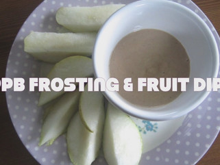 PPB Frosting or Fruit Dip