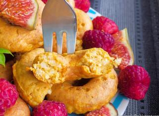 PPB Pumpkin Doughnuts with Millet
