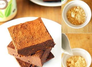 PPB Sweet Potato Brownies