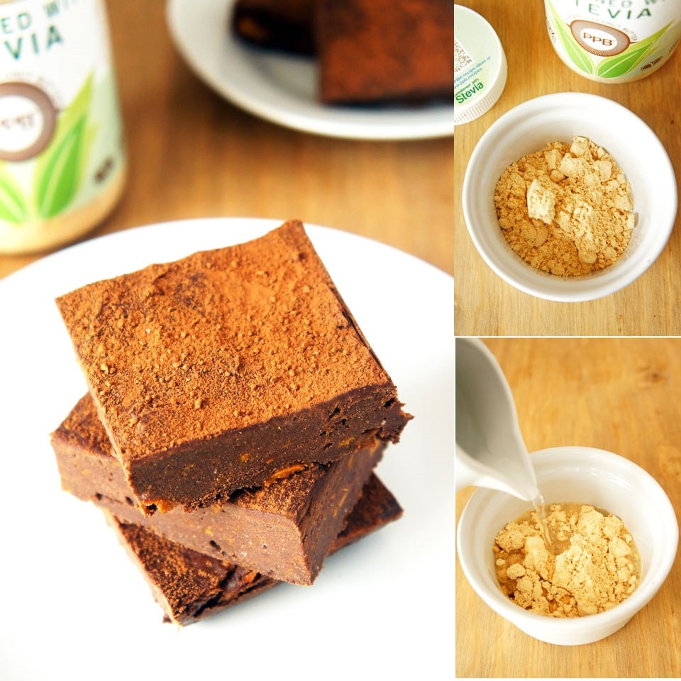PPB Sweet Potato Brownies
